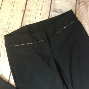 Sequin dress pants